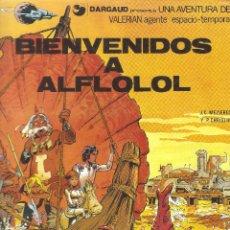 Cómics: VALERIAN AGENTE ESPACIO-TEMPORAL - Nº 3 - BIENVENIDOS A AFLOLOL - GRIJALBO - 1978.. Lote 49521352