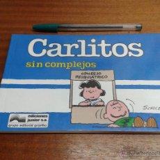 Cómics: CARLITOS Nº 11: SIN COMPLEJOS / SCHULZ / GRIJALBO - EDICIONES JUNIOR 1990. Lote 49529088