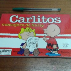 Cómics: CARLITOS Nº 17: CONSEJERO DE SALLY / SCHULZ / GRIJALBO - EDICIONES JUNIOR 1991. Lote 49529146
