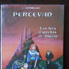 Cómics: PERCEVAN Nº 1 - LAS TRES ESTRELLAS DE INGAAR - LÉTURGIE, LUGUY - GRIJALBO - NUEVO (V). Lote 49540590