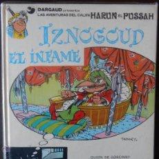 Cómics: IZNOGUD Nº 7 - IZNOGUD EL INFAME - GOSCINY, TABARY - GRIJALBO (J2). Lote 49541048