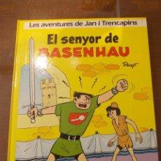 Cómics: LES AVENTURES DE JAN I TRENCAPINS Nª 1 - EL SENYOR DE BASENHAU-GRIJALBO - CATALA-CATALAN. Lote 49577709