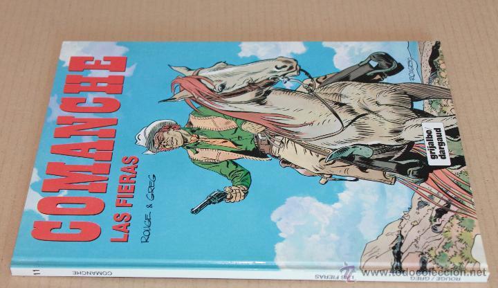 Cómics: COMANCHE 1 3 5 11 12 - Red Dust, Los lobos.., El desierto.., Las fieras, El dólar.. - como NUEVOS - Foto 3 - 49611859