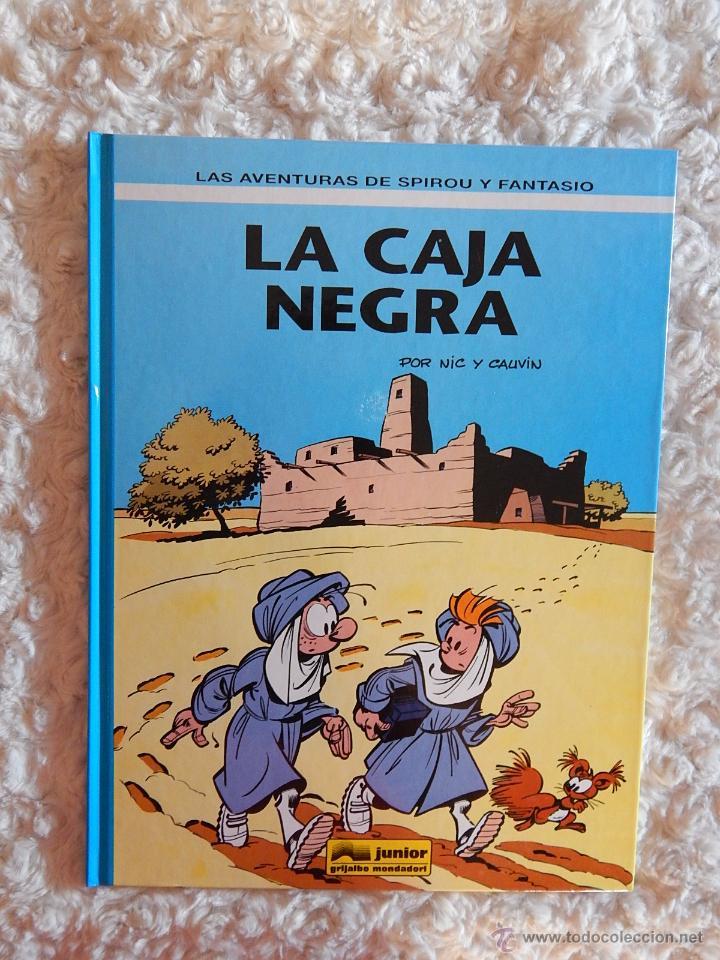LAS AVENTURAS DE SPIROU Y FANTASIO - LA CAJA NEGRA N- 44 (Tebeos y Comics - Grijalbo - Spirou)