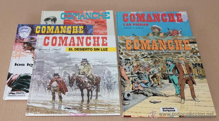 COMANCHE 1 3 5 11 12 - RED DUST, LOS LOBOS.., EL DESIERTO.., LAS FIERAS, EL DÓLAR.. - COMO NUEVOS (Tebeos y Comics - Grijalbo - Comanche)