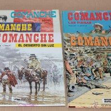 Cómics: COMANCHE 1 3 5 11 12 - RED DUST, LOS LOBOS.., EL DESIERTO.., LAS FIERAS, EL DÓLAR.. - COMO NUEVOS. Lote 49611859