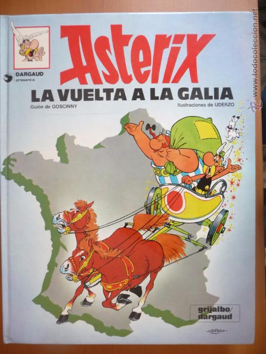 ASTERIX. LA VUELTA A LA GALIA. GRIJALBO. TAPA DURA (Tebeos y Comics - Grijalbo - Asterix)