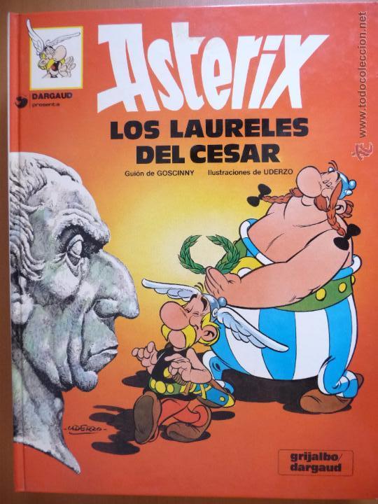 ASTÉRIX. LOS LAURELES DEL CÉSAR. GRIJALBO. TAPA DURA (Tebeos y Comics - Grijalbo - Asterix)