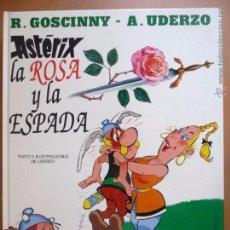 Cómics: ASTÉRIX. LA ROSA Y LA ESPADA. GRIJALBO. TAPA DURA. Lote 49900995