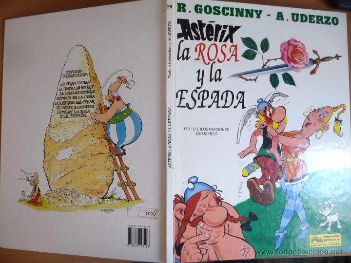 Cómics: ASTÉRIX. LA ROSA Y LA ESPADA. GRIJALBO. TAPA DURA - Foto 2 - 49900995