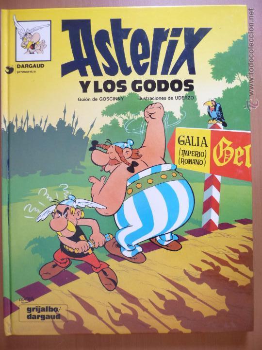 ASTÉRIX Y LOS GODOS. GRIJALBO. TAPA DURA (Tebeos y Comics - Grijalbo - Asterix)