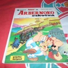 Cómics: ASTERIX (EUSKERA), ARBERNOKO EZKUTUA, ED. GRIJALBO, 1987. Lote 49953807