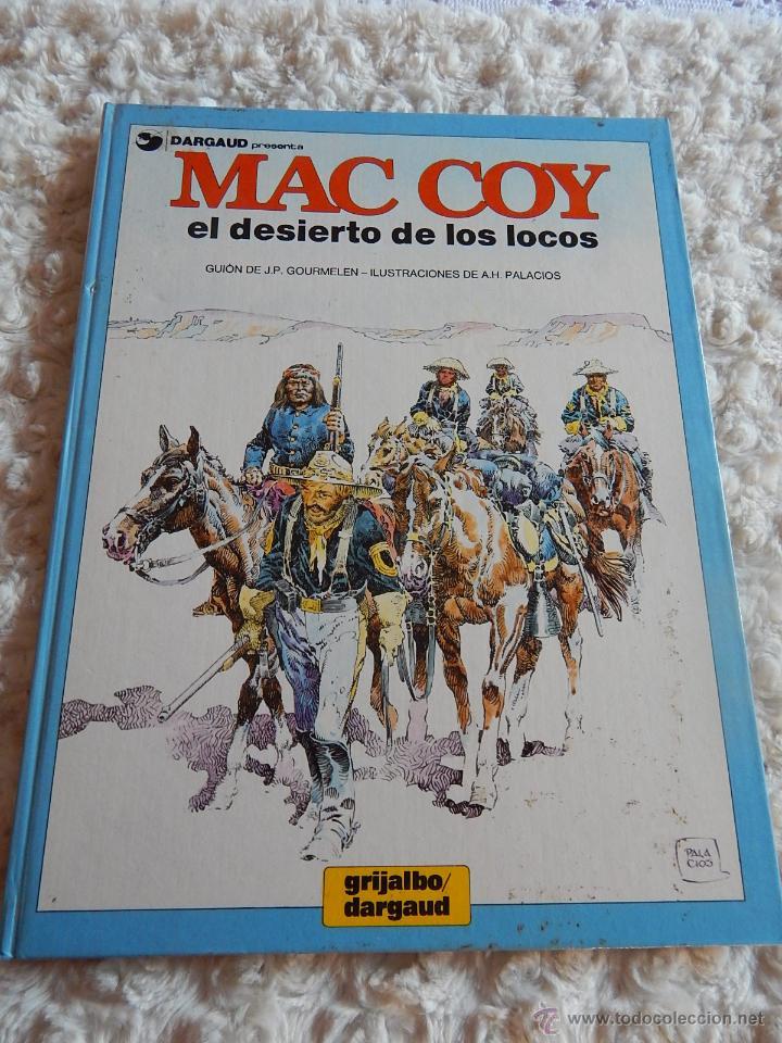 MAC COY - EL DESIERTO DE LOS LOCOS N. 14 (Tebeos y Comics - Grijalbo - Mac Coy)