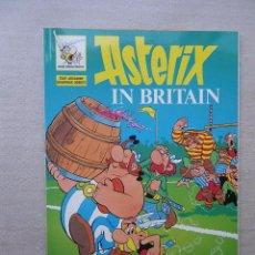 Cómics: ASTERIX EN BRETAÑA (EN INGLES) / PRADO 1989 CON LECCION. Lote 50068910