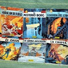 Cómics: SERIE COMPLETA EN ESPAÑOL DE 10 TOMOS: LAS AVENTURAS DEL REPORTERO LEFRANC - GRIJALBO 1986-1989. Lote 50349408