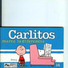 Cómics: CARLITOS Nº 14 - MARCA LA DIFERENCIA - SCHULZ - EDICIONES JUNIOR - GRIJALBO - 1990. Lote 50406072