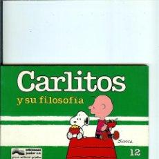 Cómics: CARLITOS Nº 12 - Y SU FILOSOFIA - SCHULZ - EDICIONES JUNIOR - GRIJALBO - 1989. Lote 50406086