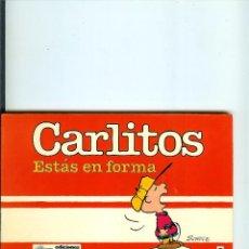 Cómics: CARLITOS Nº 05 - ESTAS EN FORMA - SCHULZ - EDICIONES JUNIOR - GRIJALBO - 1986. Lote 50406219