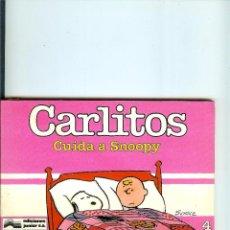 Cómics: CARLITOS Nº 04 - CUIDA A SNOOPY - SCHULZ - EDICIONES JUNIOR - GRIJALBO - 1985. Lote 50406238