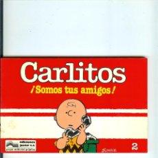 Cómics: CARLITOS Nº 02 - SOMOS TUS AMIGOS - SCHULZ - EDICIONES JUNIOR - GRIJALBO - 1983. Lote 50406273
