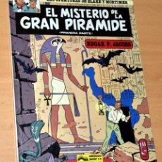 Cómics: EL MISTERIO DE LA GRAN PIRÁMIDE - 1ª PARTE - BLAKE AND MORTIMER - DE EDGAR P. JACOBS - GRIJALBO 1983. Lote 50589752