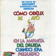 Cómics: CÓMO OBÉLIX SE CAYÓ EN LA MARMITA DEL DRUIDA CUANDO ERA PEQUEÑO (1989). Lote 50594918