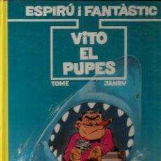 Cómics: VITO EL PUPES - TOME / JANRY - GRIJALBO - 1992 - EN CATALÁN. Lote 50627965