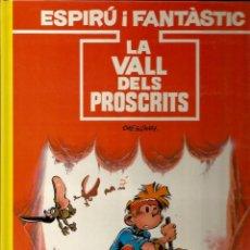 Cómics: LA VALL DELS PROSCRITS - TOME / JANRY - GRIJALBO - 1991 - EN CATALÁN. Lote 50627979