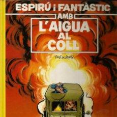 Cómics: AMB L'AIGUA AL COLL - TOME / JANRY - GRIJALBO - 1991 - EN CATALÁN. Lote 50627981