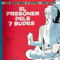 Cómics: EL PRESONER DELS 7 BUDES - FRANQUIN / JIDEHEN / GREG - GRIJALBO - 1983 - EN CATALÁN. Lote 50628033