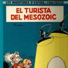 Cómics: EL TURISTA DEL MESOZOIC - FRANQUIN - GRIJALBO - 1983 - EN CATALÁN. Lote 50628047