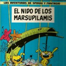 Cómics: EL NIDO DE LOS MARSUPILAMIS - FRANQUIN - GRIJALBO - 1982 . Lote 50628061