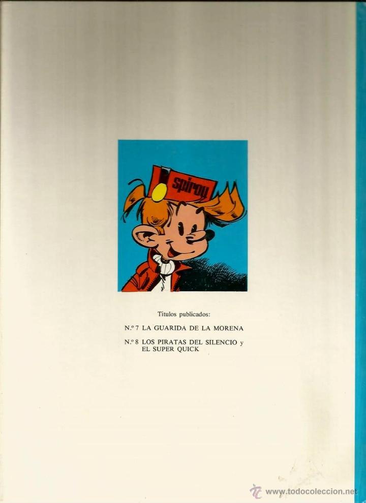 Cómics: LOS PIRATAS DEL SILENCIO Y EL SUPER QUICK - FRANQUIN - GRIJALBO - 1982 - Foto 2 - 50628076