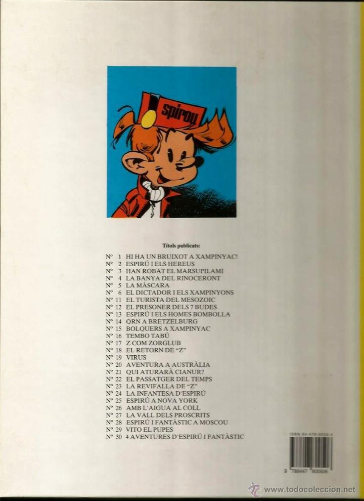 Cómics: HI HA UN BRUIXOT A XAMPINYAC - FRANQUIN - GRIJALBO - 1993 - EN CATALÁN - Foto 2 - 52745551