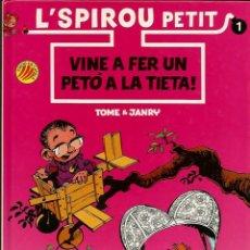 Cómics: VINE A FER UN PETÓ A LA TIETA - TOME / JANRY - ED. B - 1990 - EN CATALÁN. Lote 50628115