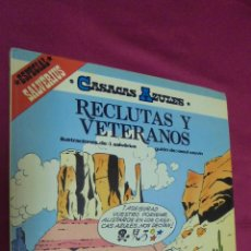 Cómics: CASACAS AZULES. Nº 4. RECLUTAS Y VETERANOS. GRIJALBO.. Lote 51192600