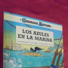 Cómics: CASACAS AZULES. Nº 7. LOS AZULES EN LA MARINA. GRIJALBO.. Lote 51192659