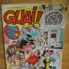 Cómics: GUAI Nº 43 - EDICIONES JUNIOR - GRIJALBO. Lote 51336388
