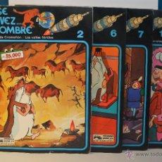 Cómics: LOTE ERASE UNA VEZ... EL HOMBRE - NUMEROS 2-6-7-10 - EDICIONES JUNIO - GRIJALBO - 1979. Lote 56584004