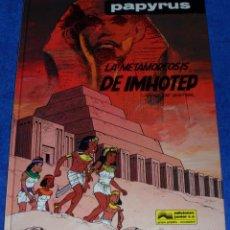 Cómics: PAPYRUS Nº 8 - LA METAMORFOSIS DE IMHOTEP (1990). Lote 51529291