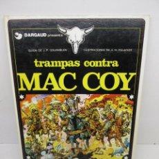 Cómics: MAC COY Nº 3 TRAMPAS CONTRA MAC COY - TAPA DURA,GRIJALBO,EDICIONES JUNIOR 1º EDICIÓN 1979. Lote 51530157