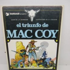 Cómics: MAC COY Nº 4 EL TRIUNFO DE MAC COY - TAPA DURA,GRIJALBO,EDICIONES JUNIOR 1º EDICIÓN 1979. Lote 51530191