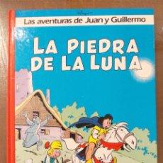 Cómics: LAS AVENTURAS DE JUAN Y GUILLERMO N. 4 - LA PIEDRA DE LA LUNA-GRIJALBO-DARGAUD. Lote 51584587