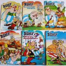 Comics: CUENTOS TROQUELADOS ASTERIX 1 A 6 COMPLETA (GOSCINNY Y UDERZO) PUBLICACIONES FHER, 1981 OFRT. Lote 198248788