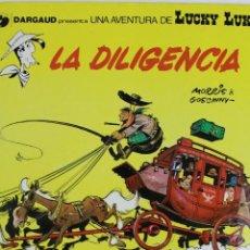 Cómics: COM-181. LUCKY LUKE. LA DILIGENCIA.. NUMERO 24. GRIJALBO / DARGAUD. 1983.. Lote 74102255