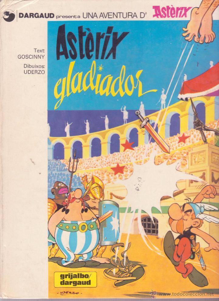 ASTERIX GLADIADOR (Tebeos y Comics - Grijalbo - Asterix)