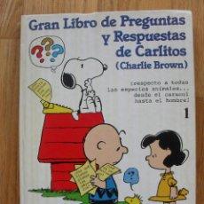 Cómics: GRAN LIBRO DE PREGUNTAS Y RESPUESTAS DE CARLITOS, EDICIONES JUNIOR GRIJALBO. Lote 51956548