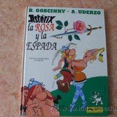 Cómics: ASTERIX,LA ROSA Y LA ESPADA,EDICIONES JUNIOR-GRIJALBO,AÑO 1991,TAPA DURA,BUEN ESTADO,48 PAGINAS. Lote 52062047