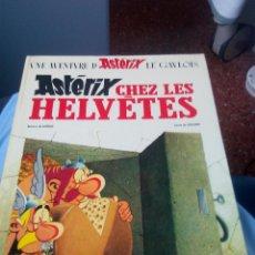 Cómics: UNE AVENTURE D'ASTERIX LE GAULOIS CHEZ LES HELVETES 1970.DRAGAUD .FRANCES. Lote 52132502