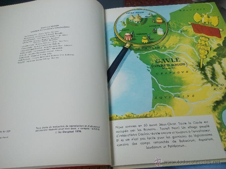 Cómics: une aventure d'asterix le gaulois chez les helvetes 1970.dragaud .frances - Foto 4 - 52132502